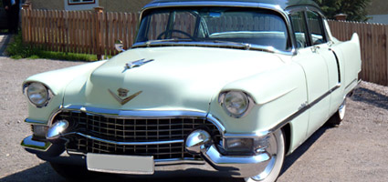 FOR SALE - Cadillac Fleetwood Spezial 1955 - Verkauf