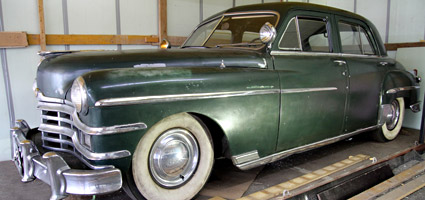 FOR SALE - Chrysler Windsor 1949 - Verkauf