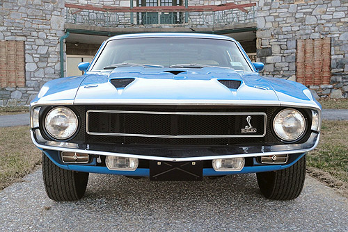 FORD MUSTANG SHELBY GT500 1969 in Tirol mieten